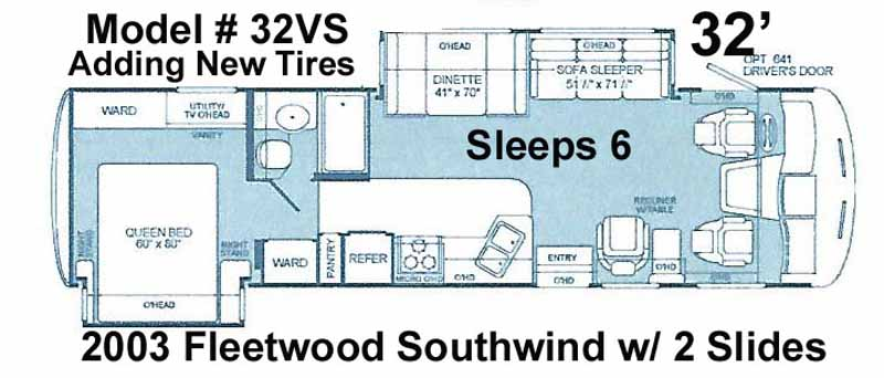 35 2003 fleetwood southwind 32vs w 2 slides wood floors warranty fleetwood southwind wiring diagrams at aneh.co
