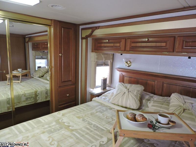 Cabinets Over Bed