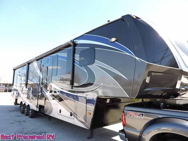 2014 Dutchmen 5th Wheel Toy Hauler Voltage 3990 Ebay