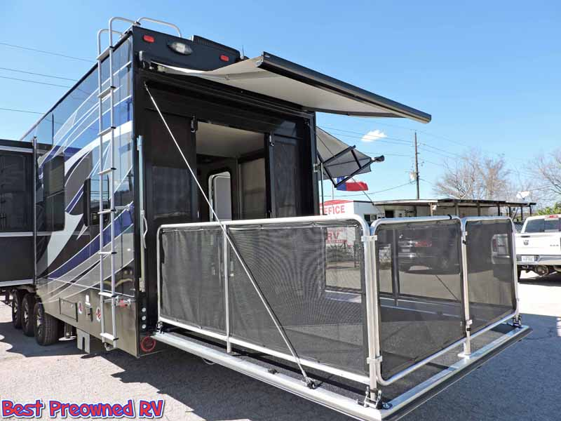 2014 Dutchmen Voltage 5th Wheel Toy Hauler 3 Slides Warranty