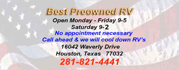 Used RV's Motorhomes, RV Service & Sales Houston, Texas